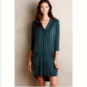 Anthropologie Green Dolan Dress